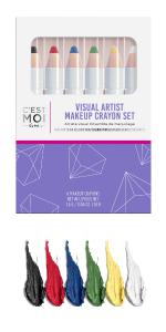C'est Moi Visual Artist Makeup Crayon Set - 6 Piece