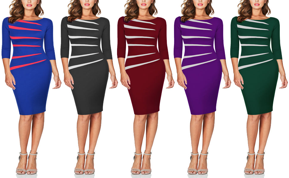 FORTRIC WOMEN WORK BUSINESS DRESSES