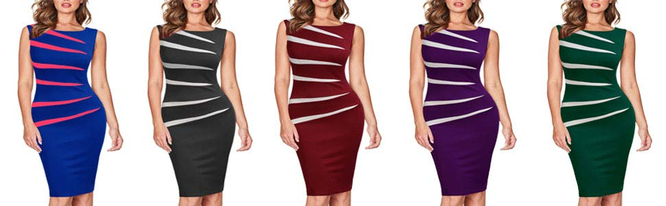 FORTRIC Work Dresses for Women