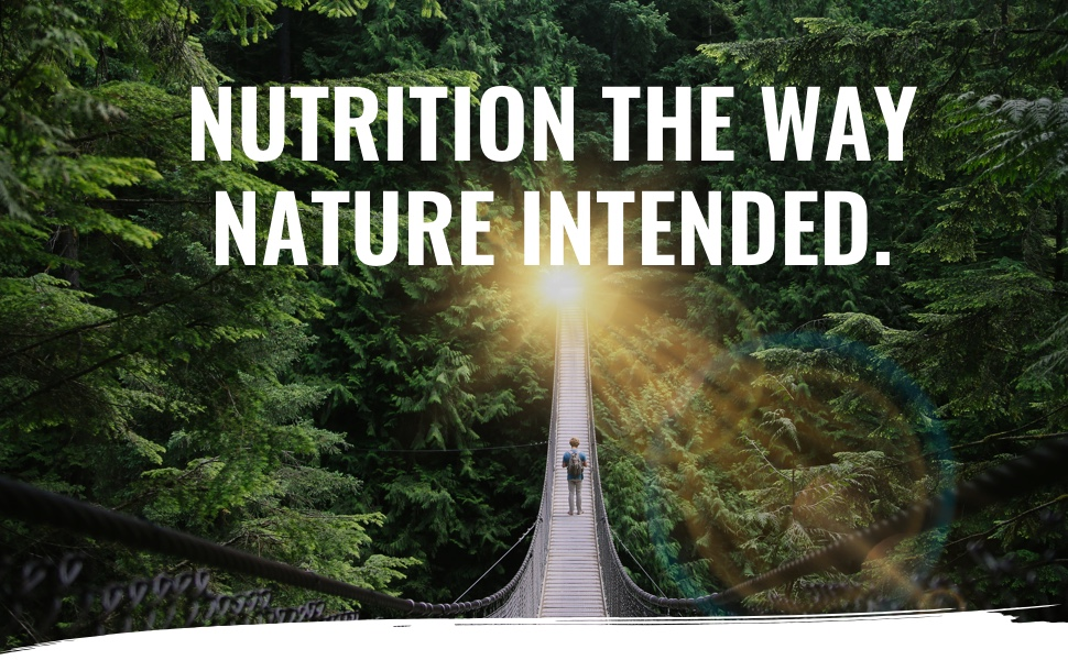 nutrition the way nature intended