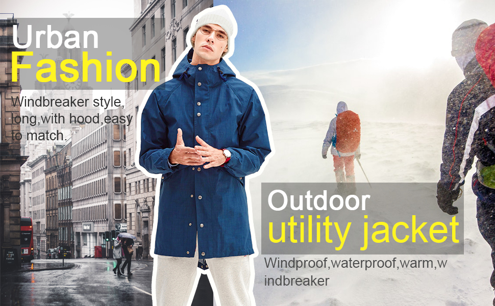Fashion Utility Jacket