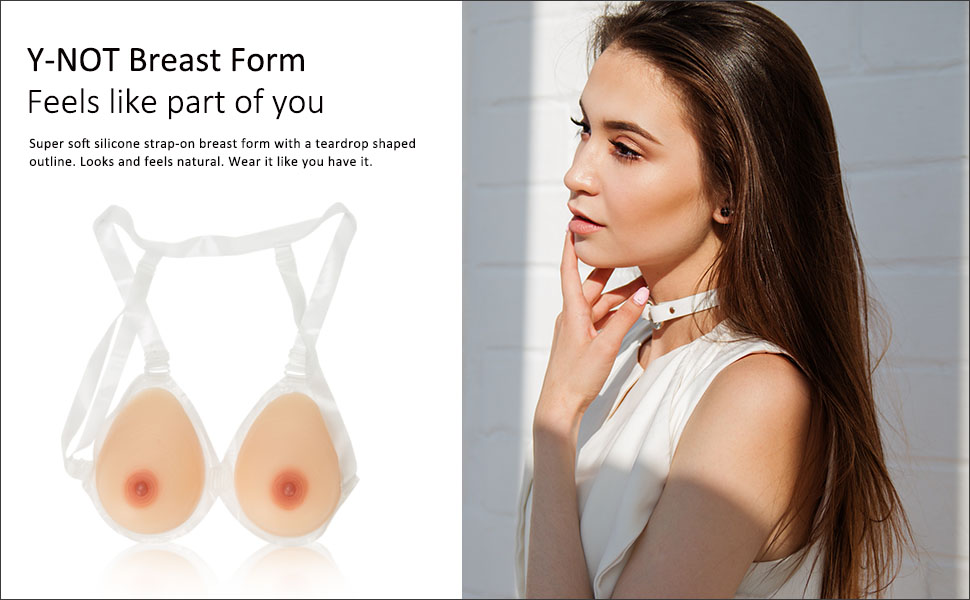 strap on breast form