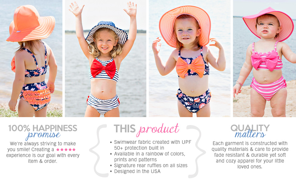 girls swimwear baby swimsuits baby bikini rufflebutts