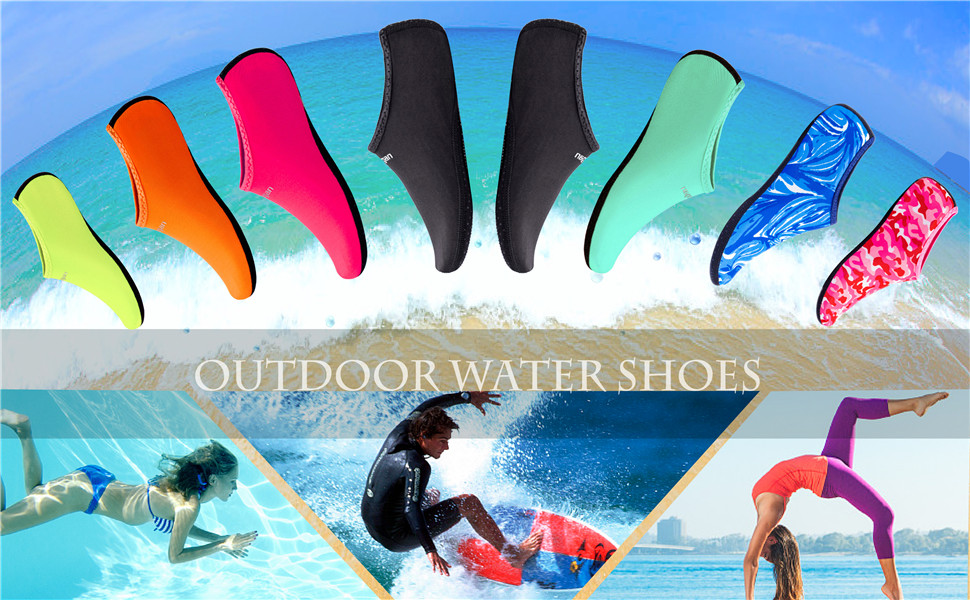 Beach Pool Water Shoes for Kid Woman Man