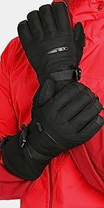 Double Black Snow Glove