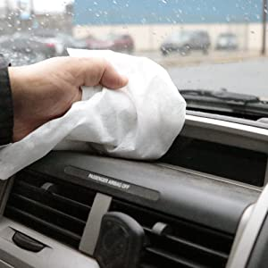 center pull shop towels residential janitorial use car home household cleaning tough dust dirt grime
