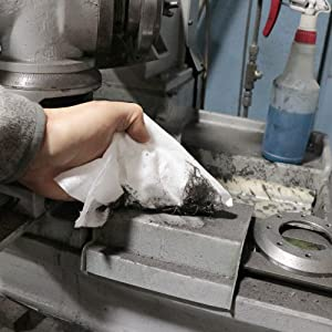industrial use shop towels disposable paper towels rags in a box tough on dirt grime oil cleaning