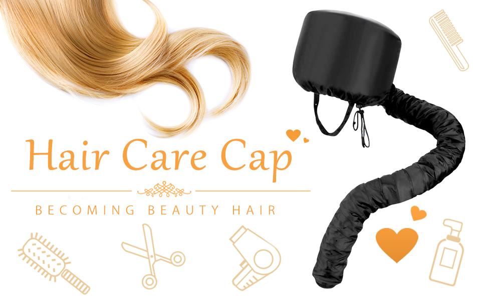 Bonnet Hood Hair Dryer Attachment