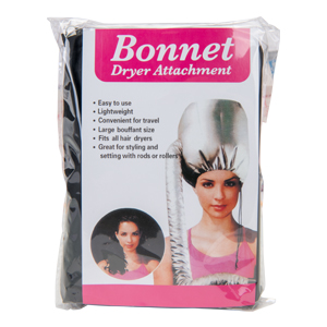 Convert your hair dryer into a professional hair drying system. Great for hair setting with rollers
