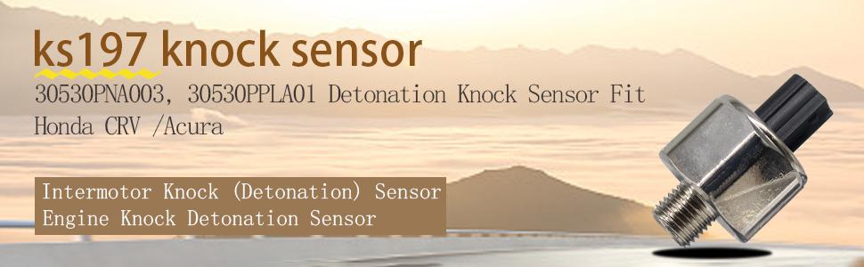 KS197 30530-PNA-003 30530-PPL-A01,30530PNA003, 30530PPLA01 knock sensor
