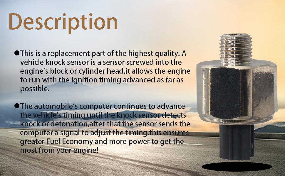 Engine Knock Detonation Sensor