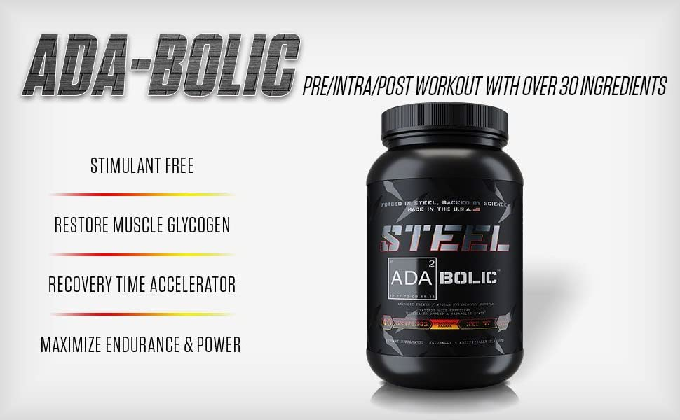 Adabolic nonstimulant preworkout post workout recovery glycogen recover restore pre workout carb