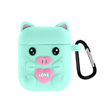 AirPods Case with Carabiner Compatible with Apple Airpods 1 & AirPods 2