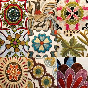pillow sham bobo bomemia style embroidered