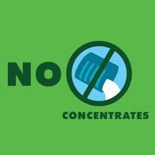 no added concentrates