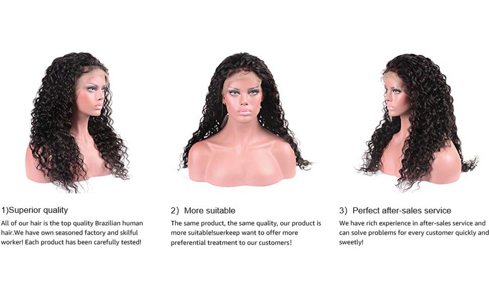 water wave hair 13*6 wig