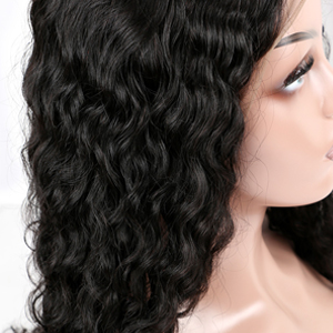 water wave hair 13*6 frontal wig