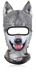 3D Animal Full Face Mask