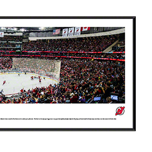 New Jersey Devils with standard frame