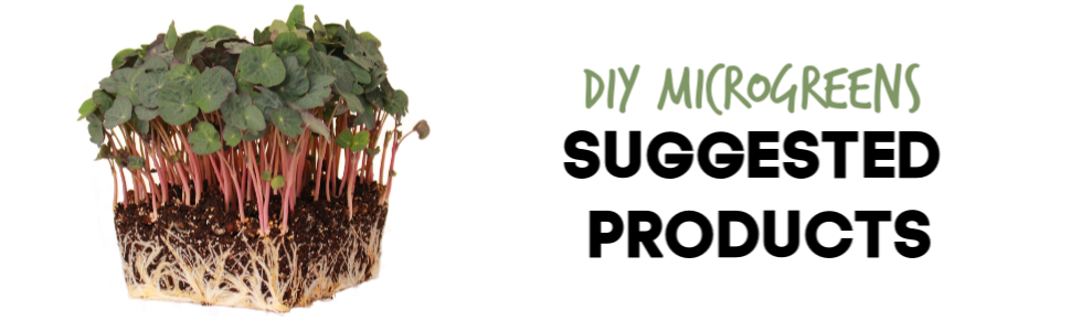 diy microgreens micro greens growing suggested products