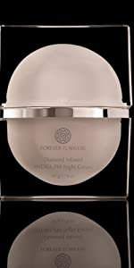 skin care forever face diamond anti aging face cream night cream vitamins for women flawless