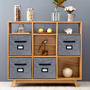 Perfect for Most Home Clutters and Cube Shelves