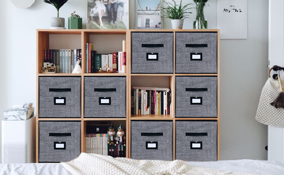 This Storage Box Set is perfect for home, office, nursery or car.