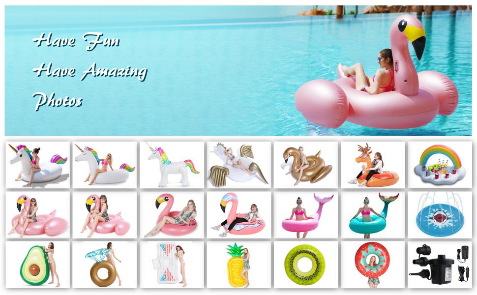 Flamingo Floatie for adults