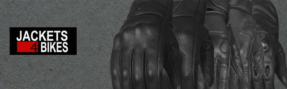 Motorcycle Gloves Leather Collection