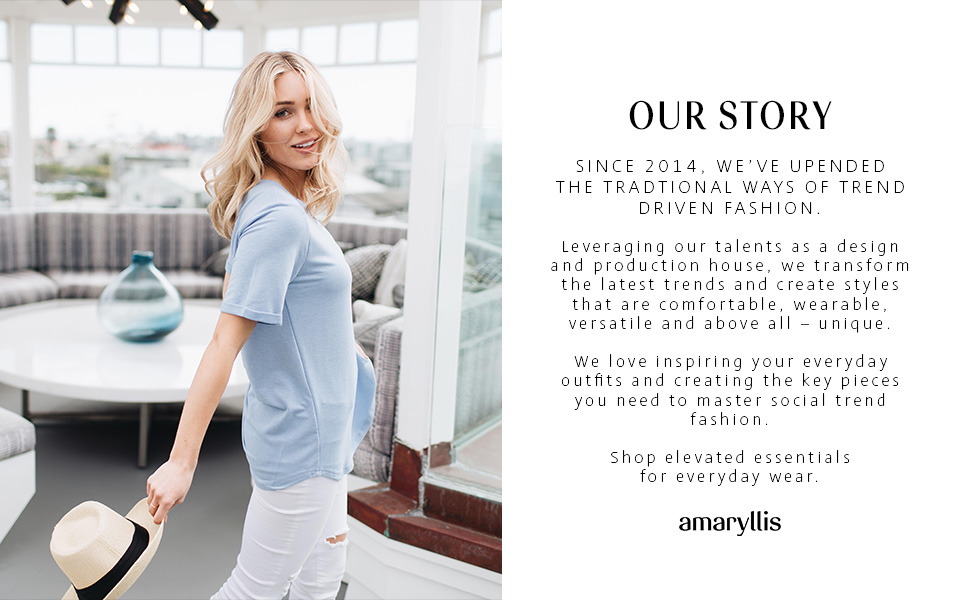 amaryllis apparel clothing women's cassie bachelor story biography instagram fashion
