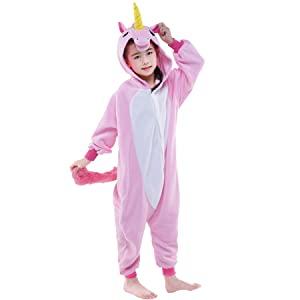 kids cosplay unicorn onesies