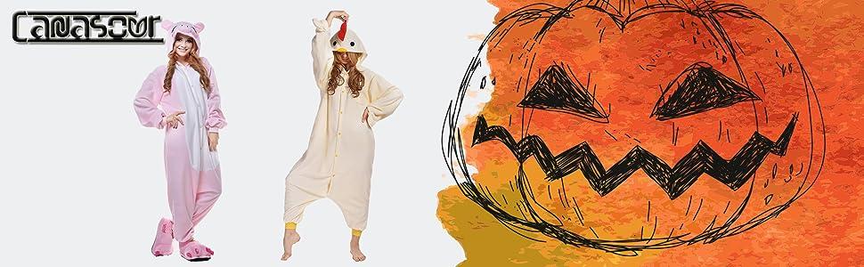 adult unisex cosplay halloween chicken costume onesies