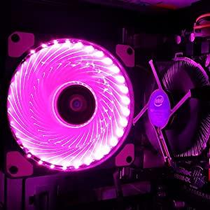 pc fan pink
