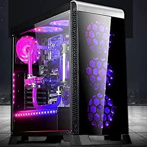 pink computer fan