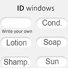 Switchable ID window