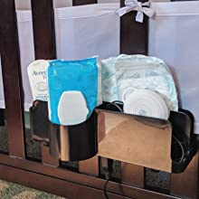 the night caddy changing table organizer
