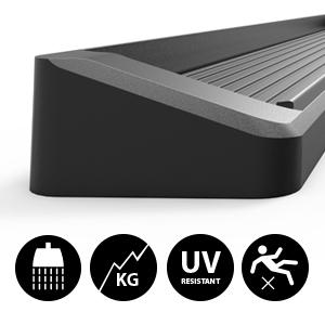 Black iBoard Running Boards