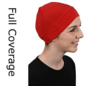 full coverage head cover cancer hat