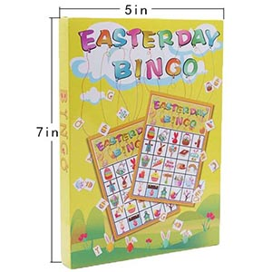 Easter day Bingo Game