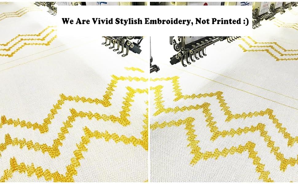 gold yellow lumbar pillow covers