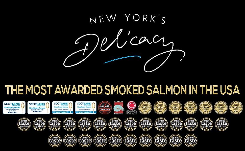 Smoked Salmon Fillet Non-Sliced