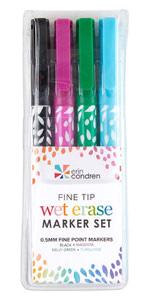 Fine Tip Wet Erase Markers