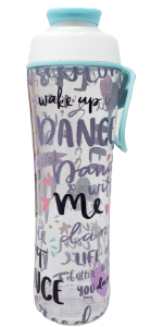 sports dance cheer ballet water bottle custom name customize gym girls girly cute water drink gift
