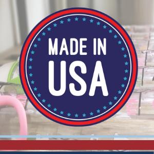 USA America made water bottle bottles hydrated stylish cute gift box giftbox family kids BPA free