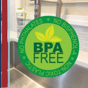 bpa free safe nontoxic plastic non-toxic taste Tritan odor resistant 100% bpa-free harmful chemicals