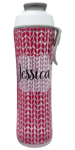 custom personalized girl boy women men custom name pink easy blue 24 ounces water bottle slim carry