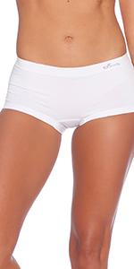 Organic Bamboo Boyleg Boyshort Panties Underwear Undies Boody booty short