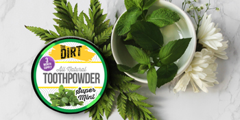 natural toothpowder  essential oil