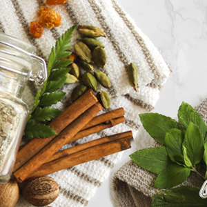 natural herbs and essential oils