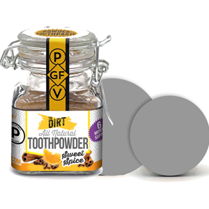 Essential oils trace mineral toothpowder dirty mouth